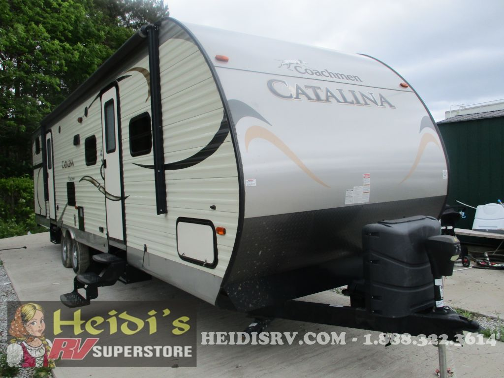 2016 CATALINA COACHMEN 323BHDS - BUNKS, OUTSIDE KITCHEN