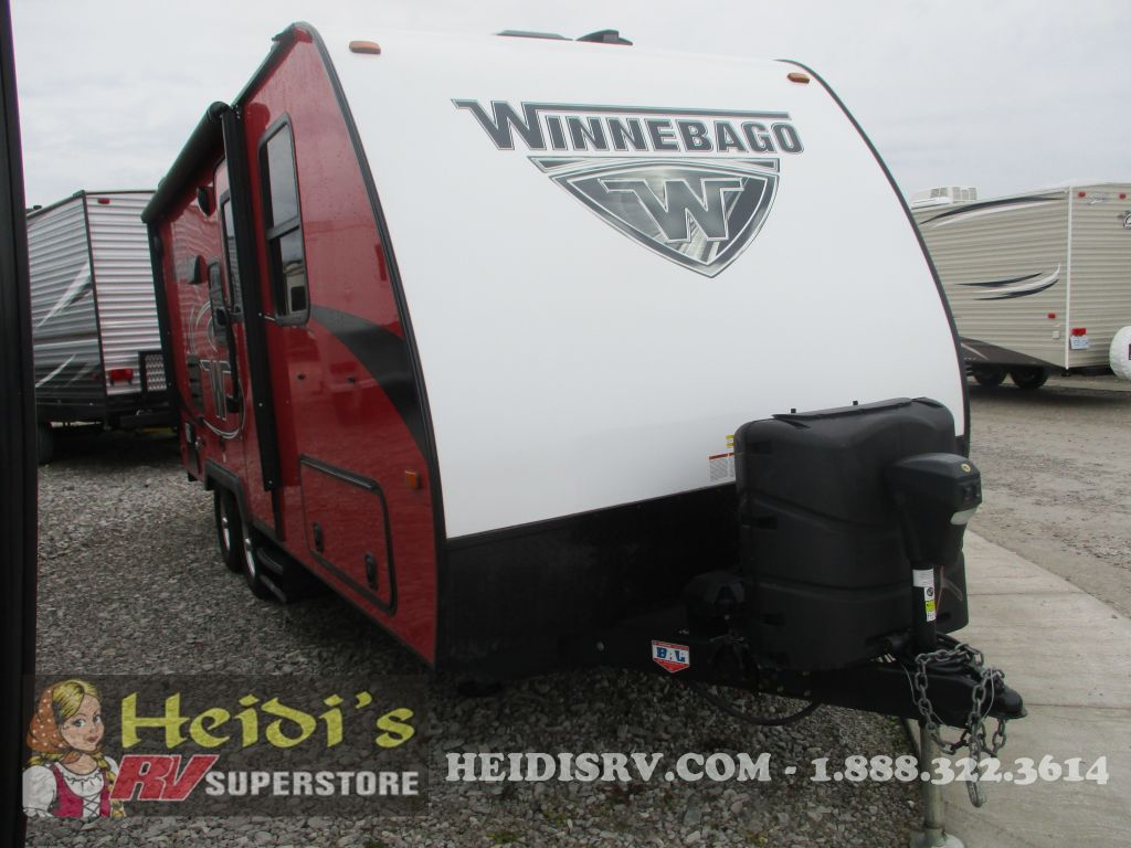 2018 WINNEBAGO WINNEBAGO MICRO MINNIE 2108DS (RED) - MURPHY BED