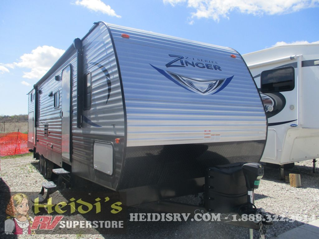 2017 ZINGER CROSS ROADS 328SB - QUAD BUNKS, OUTSIDE KITCHEN