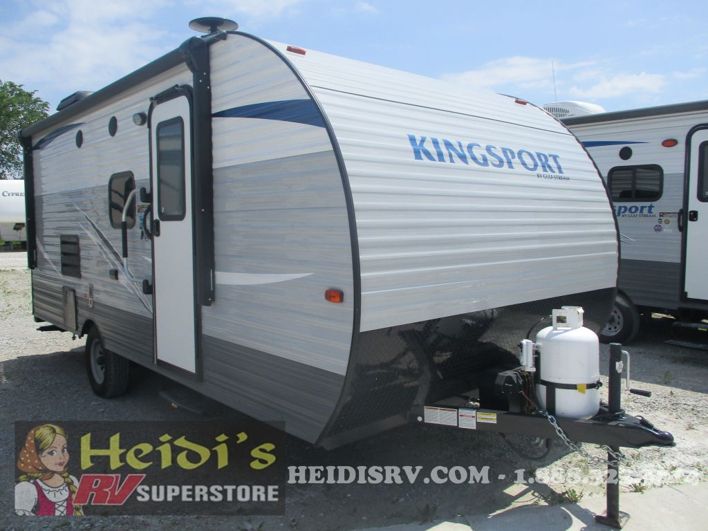 2018 KINGSPORT GULF STREAM 199DD - BUNKS
