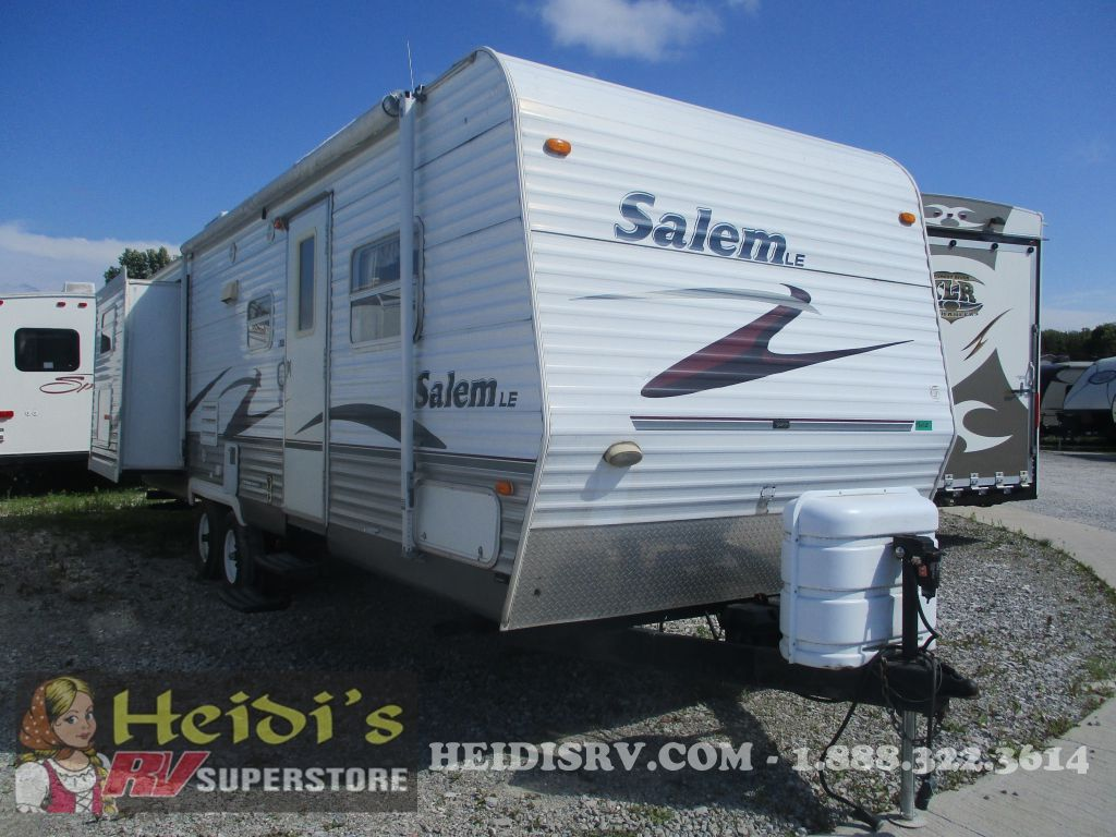 2007 SALEM FOREST RIVER 27BHBS LE - BUNKS