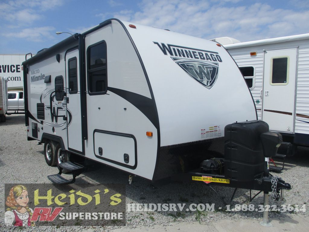 2019 WINNEBAGO WINNEBAGO MICRO MINNIE 2106DS (MURPHY BED, PLATINUM)