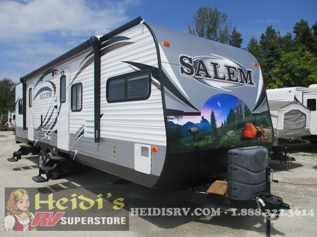 2014 SALEM FOREST RIVER 30FKBS