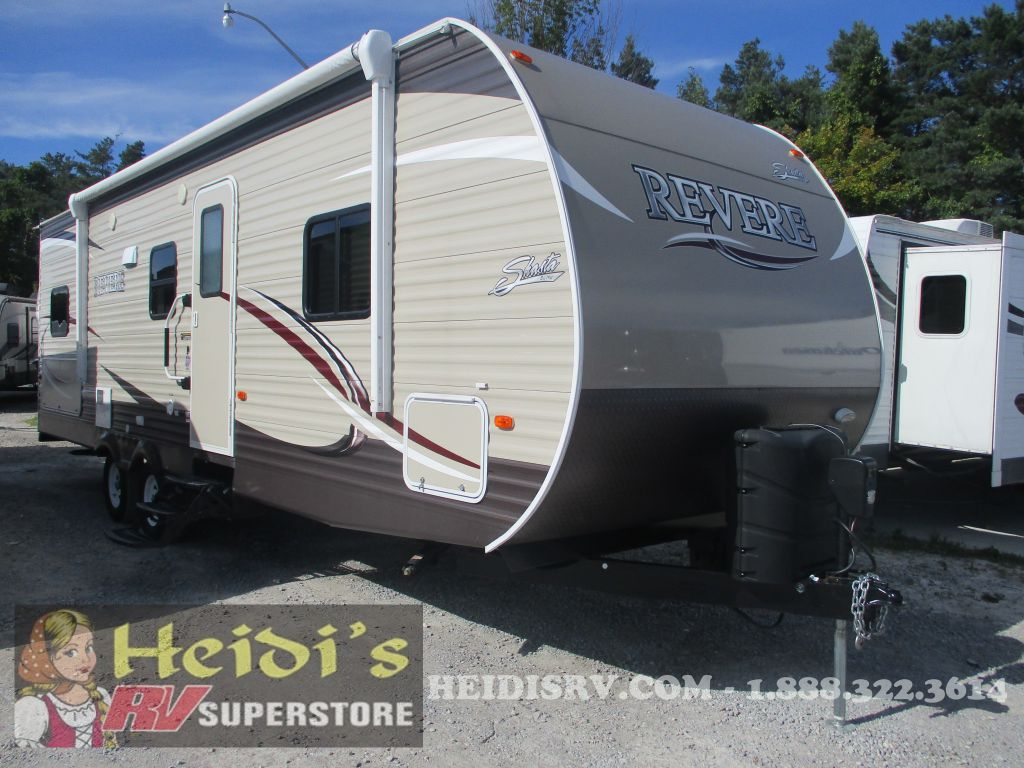2018 SHASTA FOREST RIVER REVERE 27BH (DBL/DBL BUNKS, OUTSIDE KITCHEN)