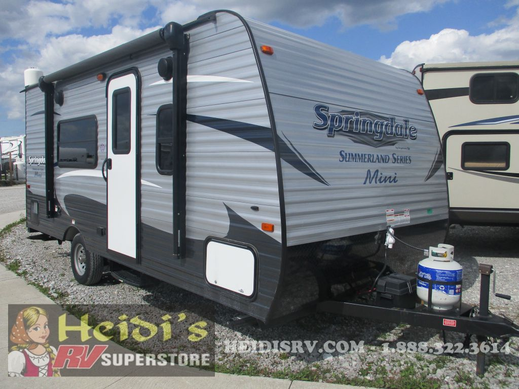 2017 SUMMERLAND KEYSTONE MINI 1700FQ