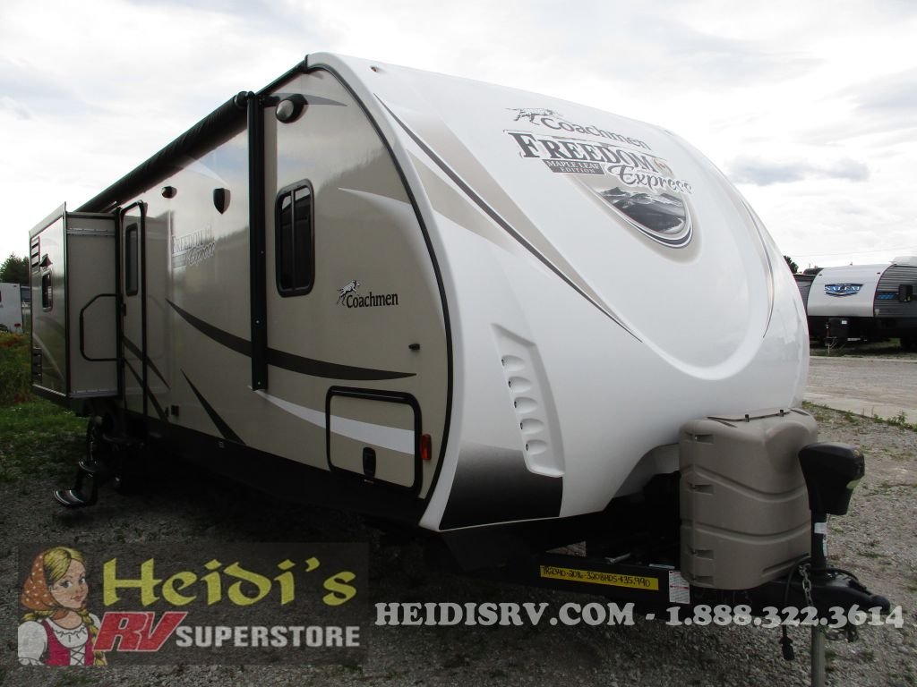 2016 COACHMEN FOREST RIVER FREEDOM EXPRESS 320BHDS - BUNKS, OUT. KIT, ISLAND