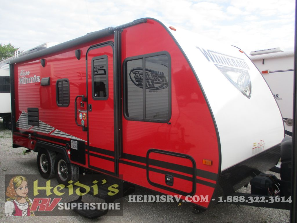 2019 WINNEBAGO WINNEBAGO MICRO MINNIE 2100BH (RED) - BUNKS
