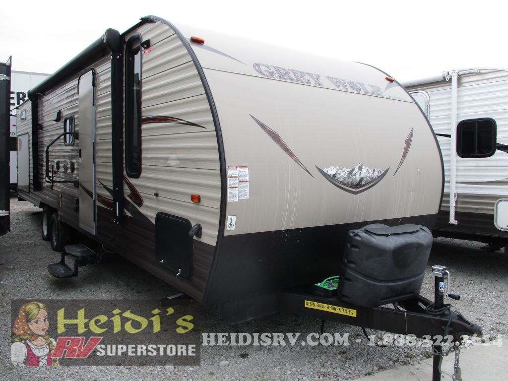 2016 CHEROKEE FOREST RIVER GREY WOLF 29BH (TRIPLE BUNKS)