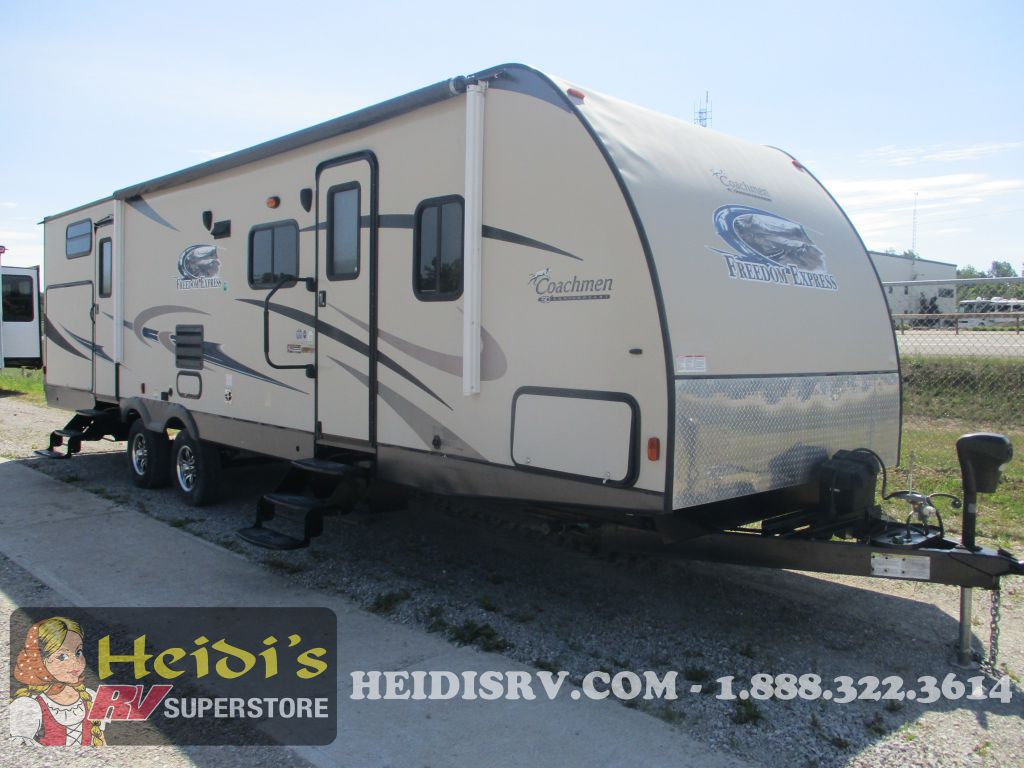 2014 FOREST RIVER COACHMEN FREEDOM 310BHDS - BUNKS, OUTSIDE KITCHEN