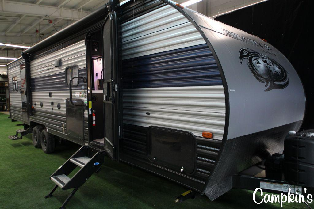 2021 FOREST RIVER CHEROKEE GREY WOLF 27RR
