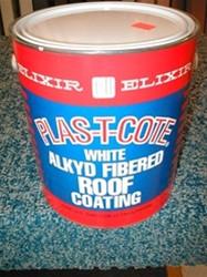 Plas T Cote Aluminum Alkyd Fibered Roof Coating Campkin