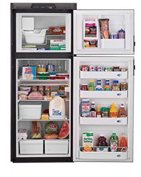 Dometic DM2852RB 8.0CF Refrigerator w/2 Way Fan