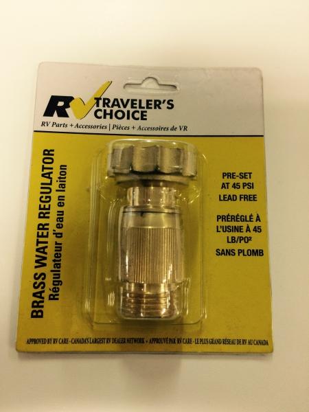RV Traveler's Choice Water Pressure Regulator