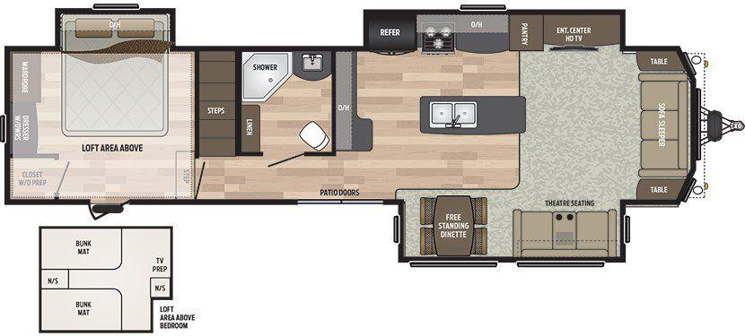 Niagara trailers products rv trailer rv dealer trailer dealer for Park model floor plans 2 bedroom