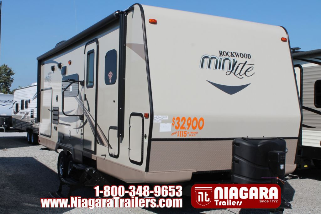 2018 FOREST RIVER ROCKWOOD MINI LITE, RLT2507S
