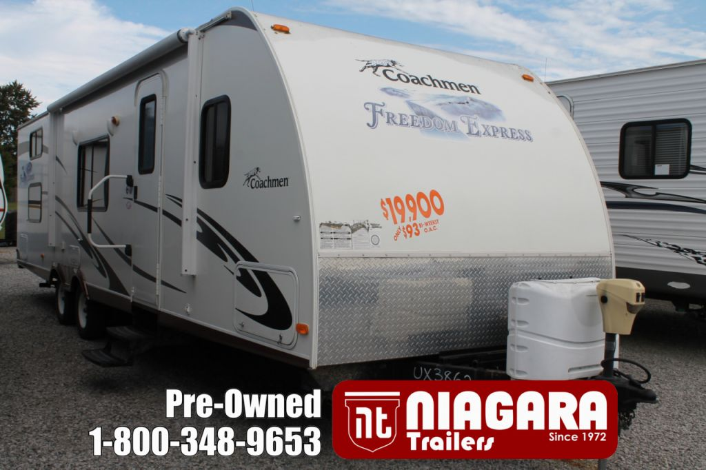 2010 FOREST RIVER COACHMAN 291QBS