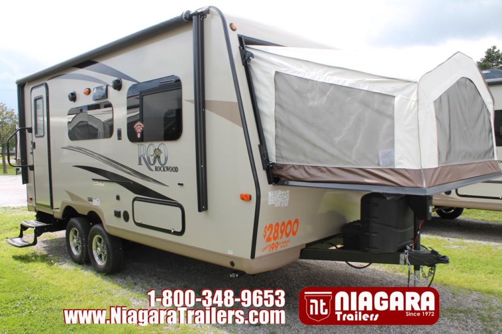 2018 FOREST RIVER ROCKWOOD ROO RLT19ROO