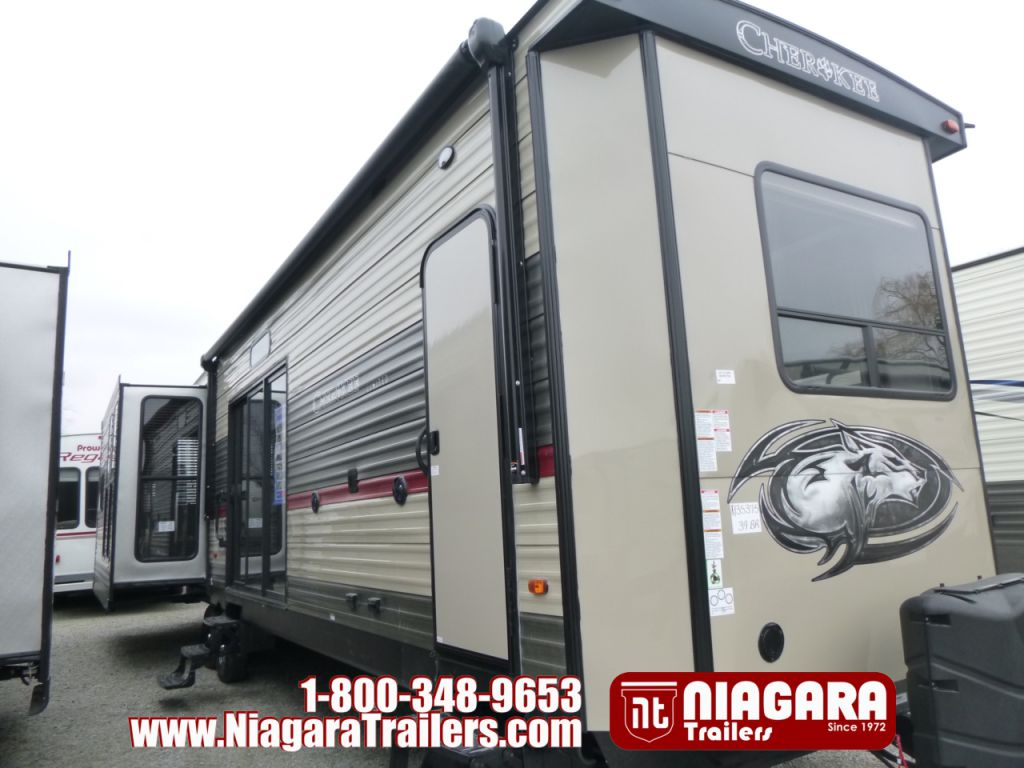2018 FOREST RIVER CHEROKEE 39BR