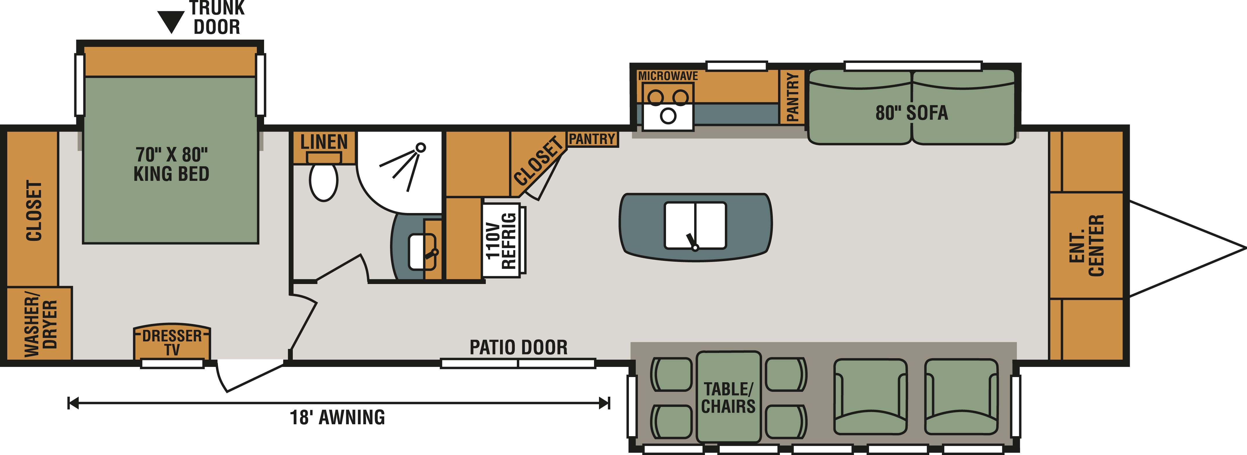 New 2019 K Z Inc Sportsmen 363fl Park Model St Davids Rvhotline Vehicle Wiring Diagram 1996 Dutchman View This Floorplan