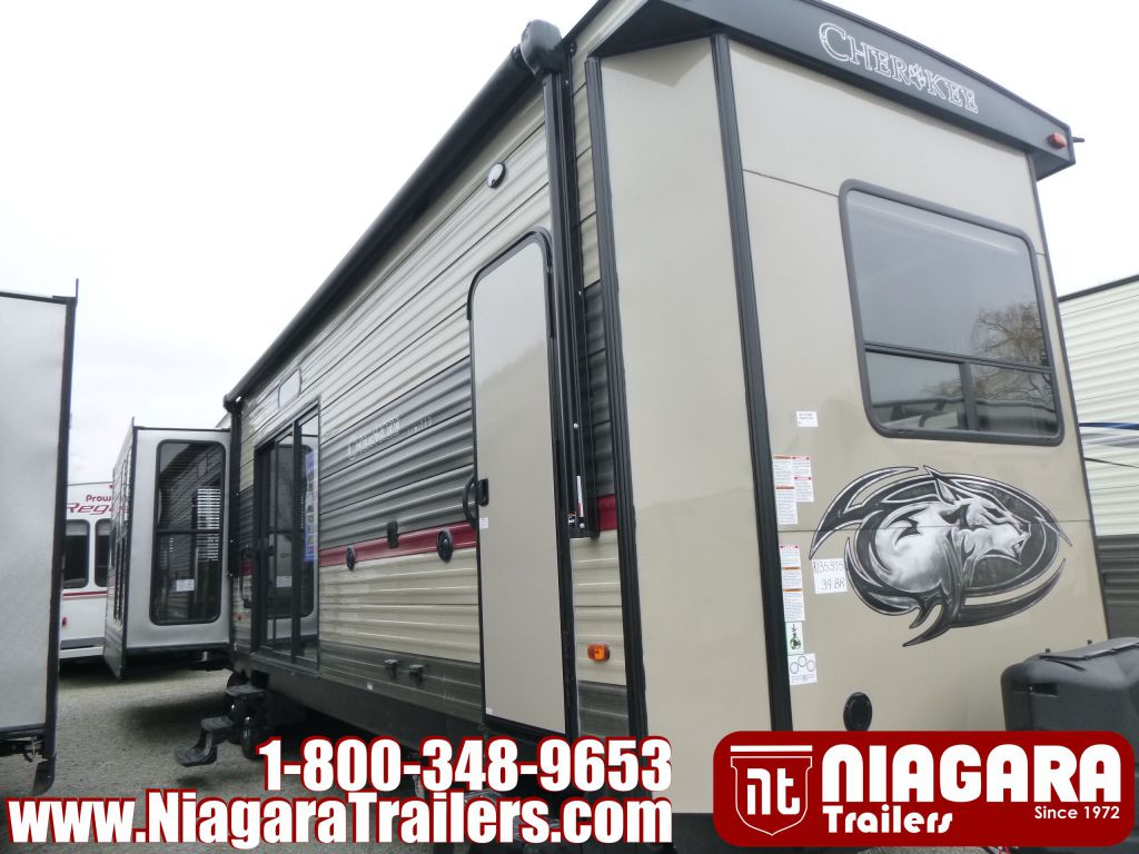 2018 FOREST RIVER CHEROKEE, 39BR