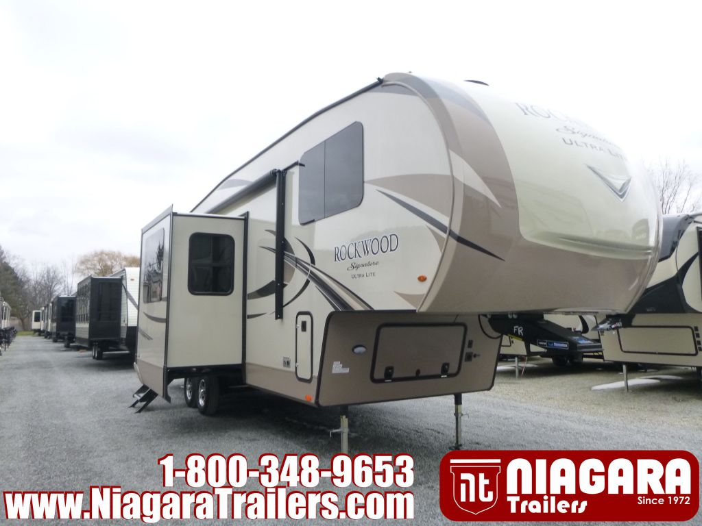 2019 FOREST RIVER ROCKWOOD SIGNATURE ULTRA LITE 8297S