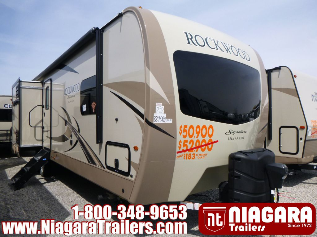 2019 FOREST RIVER ROCKWOOD SIGNATURE ULTRA LITE, 8327SS