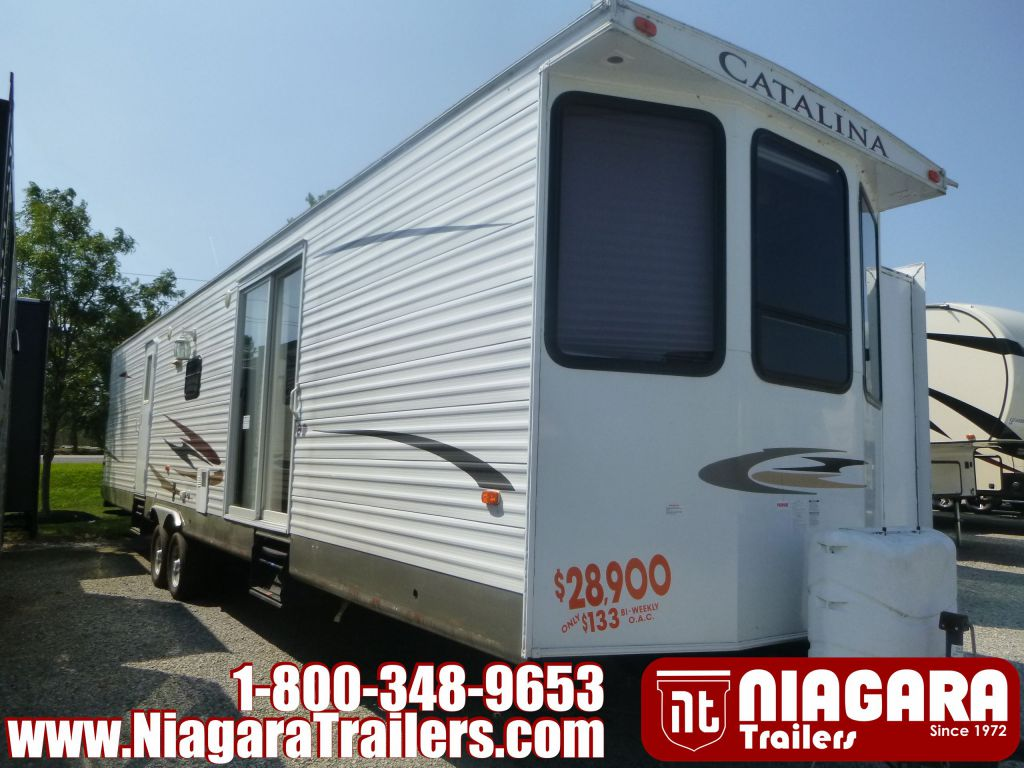 2011 FOREST RIVER COACHMAN CATALINA, 39BHTS