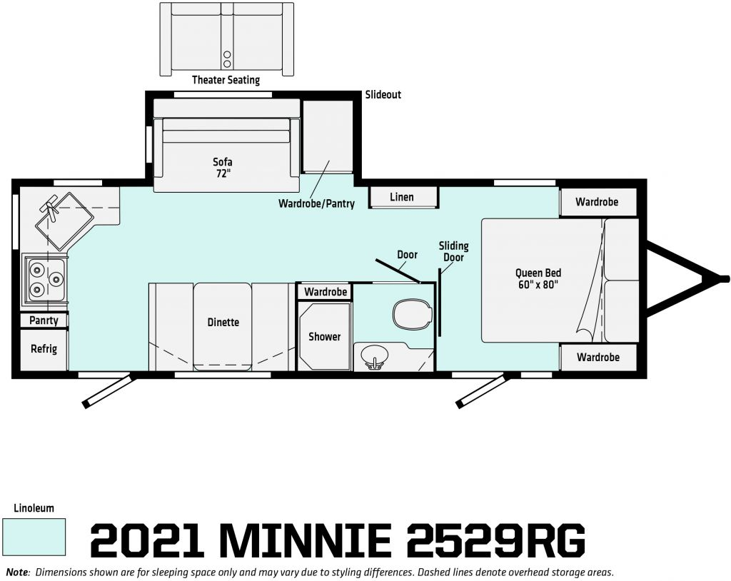 2021 WINNEBAGO MINNIE 2529RG