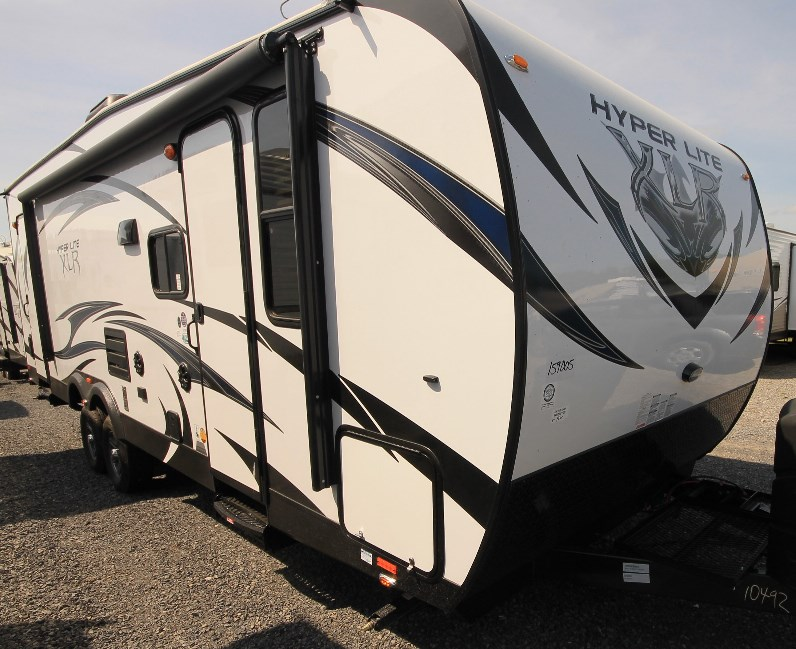 2014 FOREST RIVER GREY WOLF 21RR