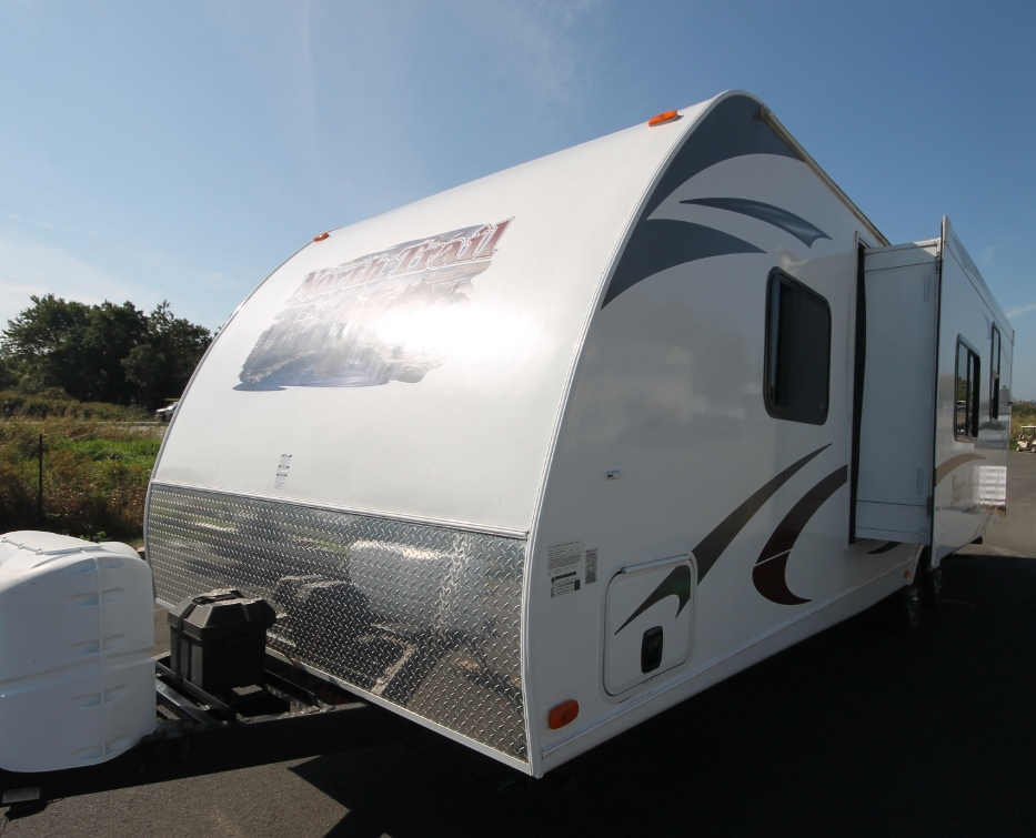 2012 HEARTLAND NORTH TRAIL 28BRS & USED 2012 HEARTLAND NORTH TRAIL 28BRS TRAVEL TRAILER - 545015 ...