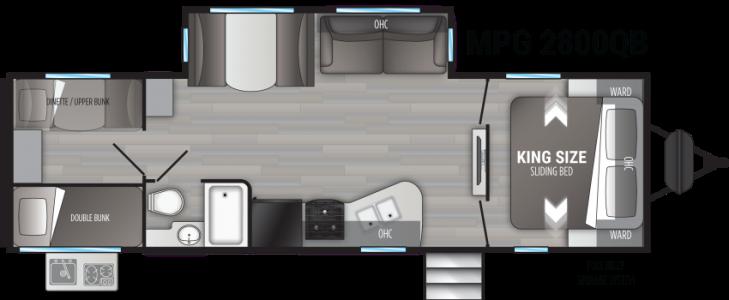 2021 CRUISER RV MPG 2800 QB