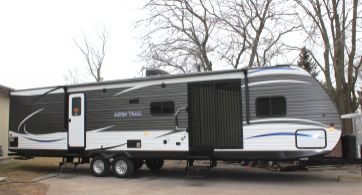 2018 DUTCHMEN ASPEN TRAIL 3600 QBDS ASPEN TRAIL w/ 2 queen beds