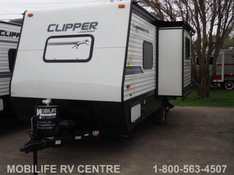 NEW 2019 COACHMEN CLIPPER 17FQS MURPHY BED TRAVEL TRAILER