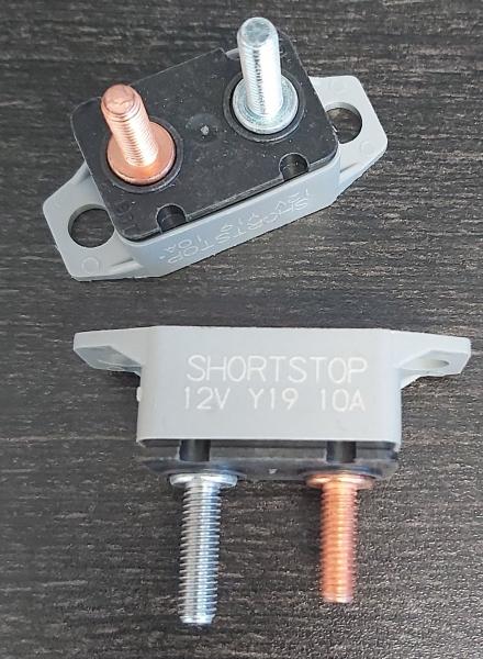 Roadtrek 10Amp mini breaker