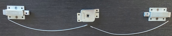 Roadtrek lock air craft cable