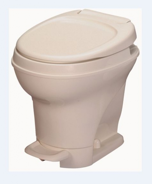 Thetford Aqua Magic V Foot Flush Toilet-Bone