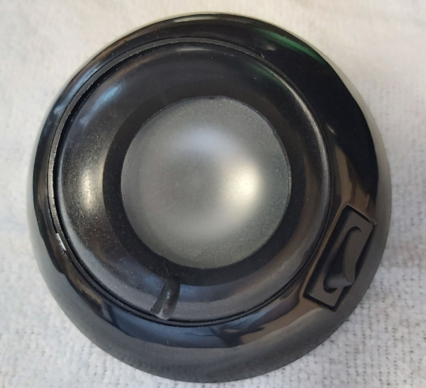 Roadtrek eye ball light black S/O 14067