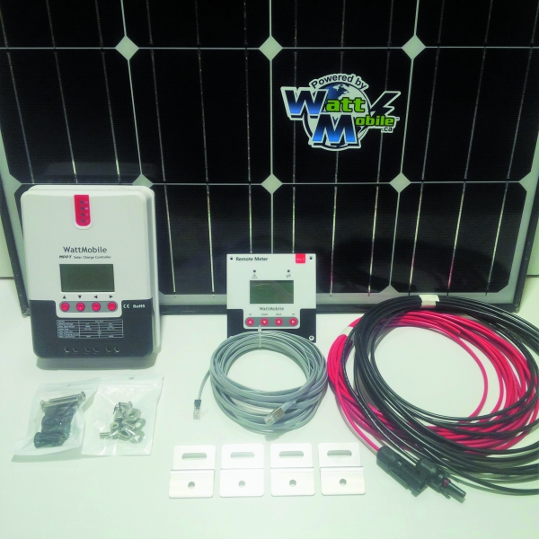 180 Watt RV Deluxe Solar Kit