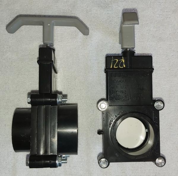 """Roadtrek  1 ½"""" ABS gate valve"""