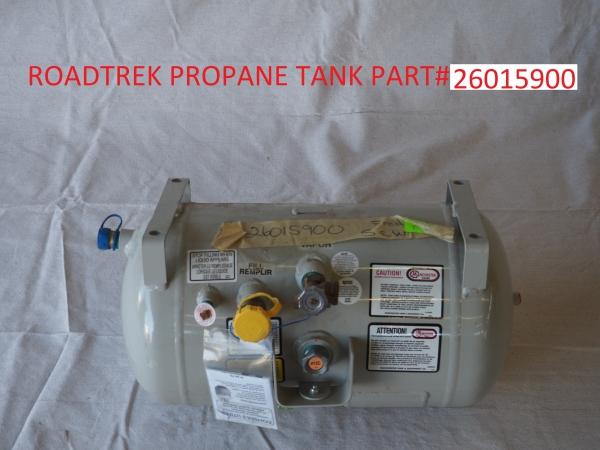 Roadtrek propane tank