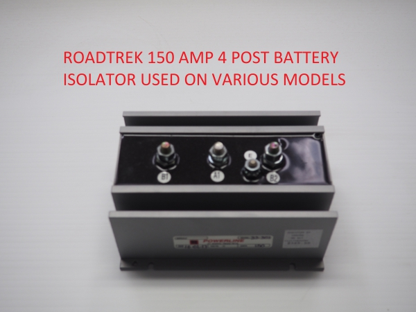 Roadtrek 150 amp 4 post battery isolator HM 719