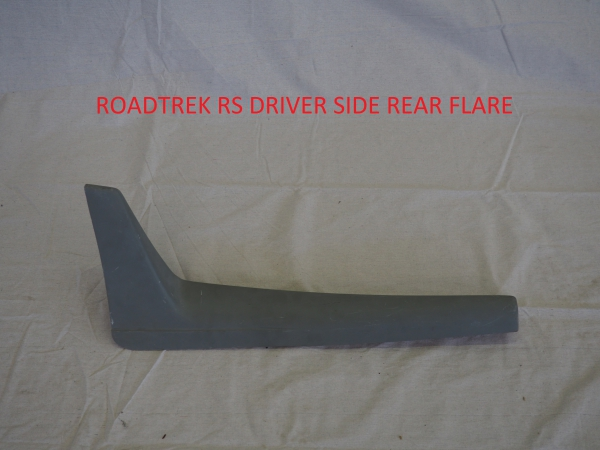Roadtrek RS driver side rear flare