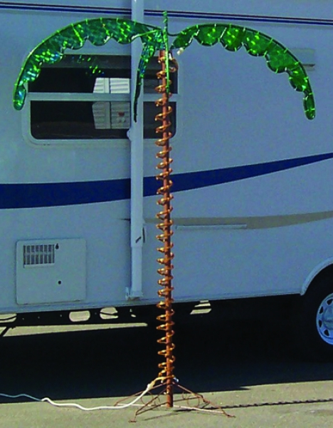 Palm Tree 7' Rope Light