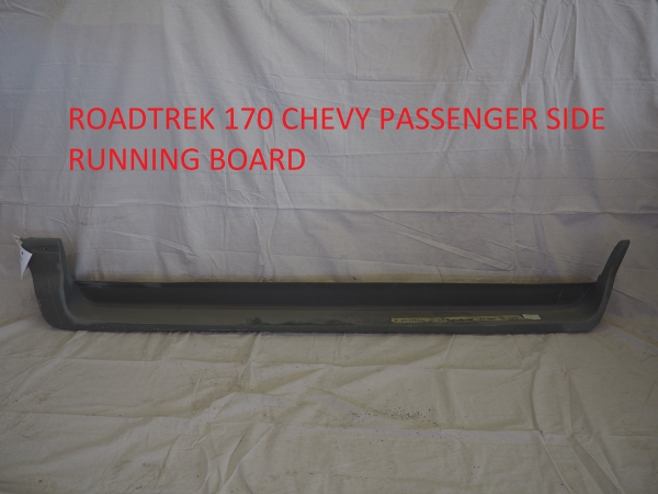 Roadtrek 170 Chevy passenger side running board