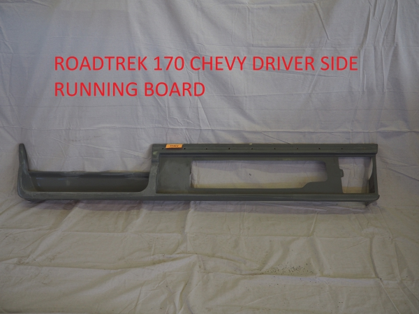 Roadtrek 170 Chevy driver side running board