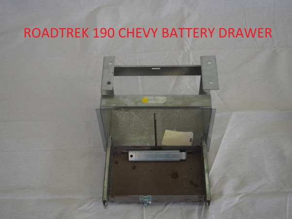 Roadtrek Sliding Battery Tray Coming Soon