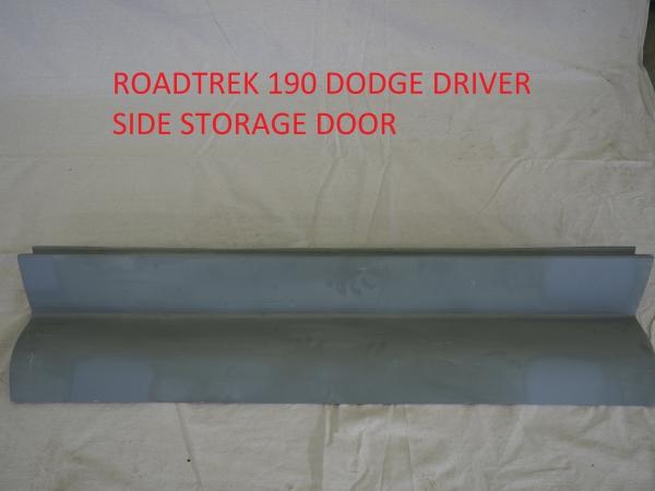 Roadtrek 190 Dodge driver side storage door