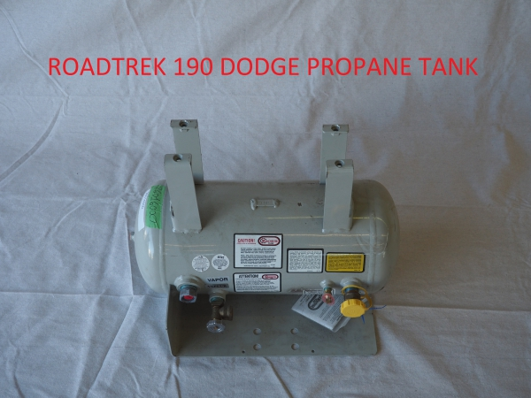Roadtrek 190 Dodge propane tank