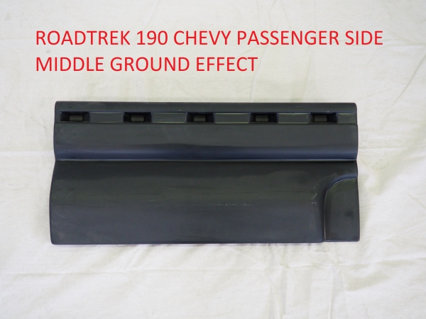 Roadtrek 190 passenger side middle ground effect