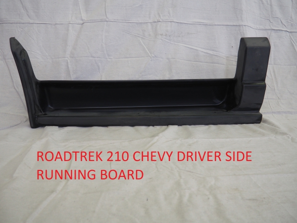Roadtrek 210 Chevy driver side running board